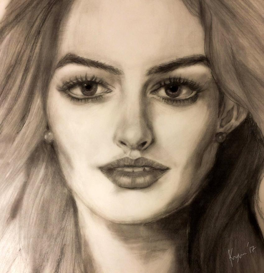 Anne Hathaway by Vyas